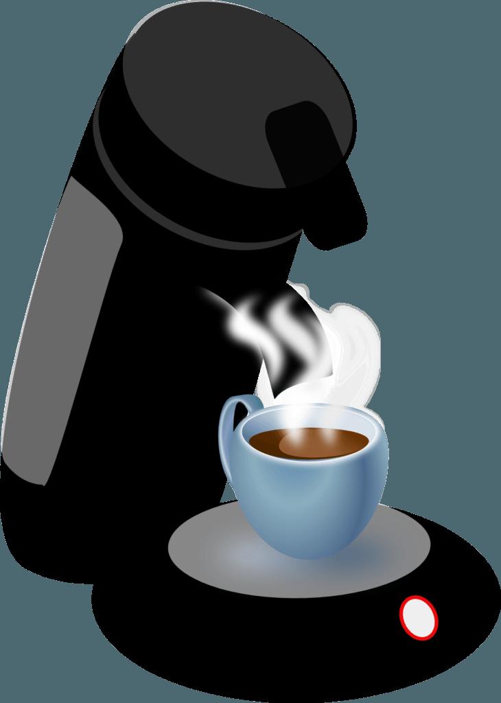 utiliser une cafetière