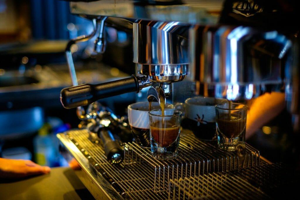 Cafetière professionnelle